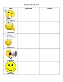 Verbs Get Moody, Too! - Note Sheet ONLY