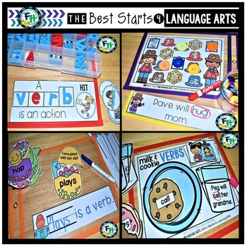 Verbs Grammar Activity Bundle
