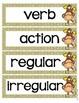 Verbs Grammar Interactive Notebook