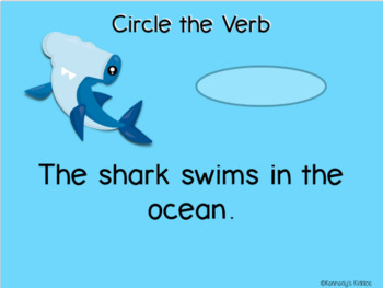 Verbs (Great for Google Classroom!)