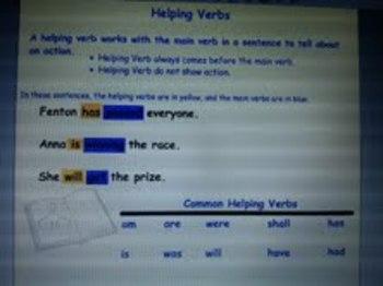 Verbs - Helping Verbs