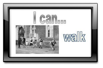 Verbs - I Can.... Flashcards - ESL Parts of Speech Games