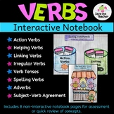 Grammar: Parts of Speech: Verbs Interactive Notebook