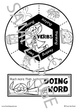 Interactive Notebook Lesson: Verbs