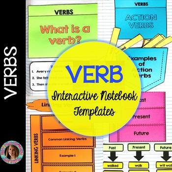 Verbs Interactive Notebook Templates