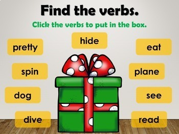 Verbs Interactive PowerPoint Lesson