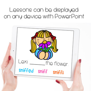 Verbs Interactive PowerPoints
