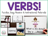 Verbs: Puzzles, Easy Readers and Instructional Materials
