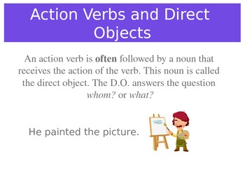 Verbs - It's what you do!