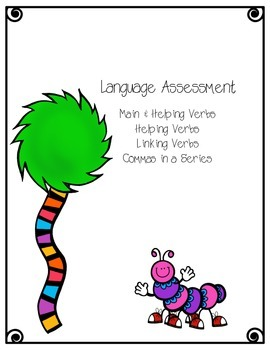 Verbs Language Assessment
