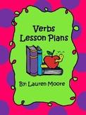 Verbs Lesson Plans (5 days)