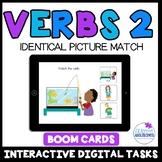 Verbs Level 1- Identical Picture Match (Set 2)-Digital Interactive Boom Deck