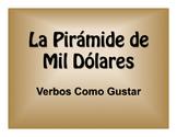 Spanish Verbs Like Gustar $1000 Pyramid Game