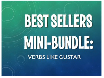 Best Sellers: Spanish Verbs Like Gustar