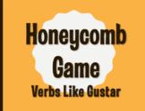 Spanish Verbs Like Gustar Honeycomb Partner Game