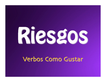Spanish Verbs Like Gustar Jeopardy-Style Review Game