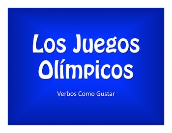 Spanish Verbs Like Gustar Olympics