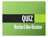Spanish Verbs Like Gustar Quiz