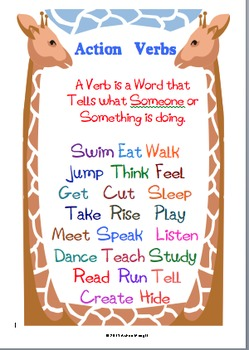 Verbs: Action  and Linking