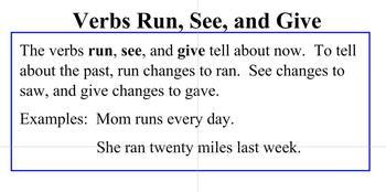 Verbs Mixed Practice