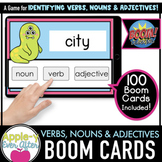 Verbs, Nouns & Adjectives - Digital Task Cards for Boom Ca