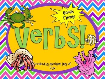 Verbs- Ocean Theme
