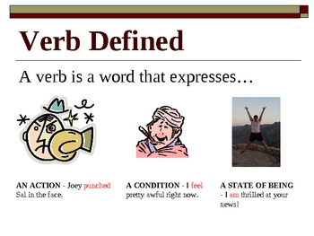 Verbs Overview