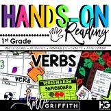 Verbs: Past, Present, Future L.1.1.e {Hands-on Reading}