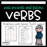 Verbs Tense: Past, Present, and Future L1.1e, RF 1.3f