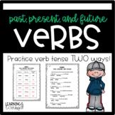 Verbs Tense: Past, Present, and Future L1.1e, RF 1.3f
