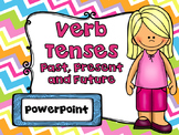 Verbs Past, Present, and Future Tense Distance Learning