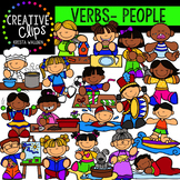 Verb Clipart: People Actions {Creative Clips Clipart}