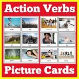 Action Verb Flashcards   Kindergarten 1st 2nd 3rd Grade  