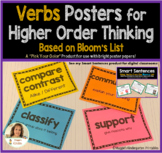 Verbs Posters for Higher Order Thinking {Print on Colored Poster Papers}