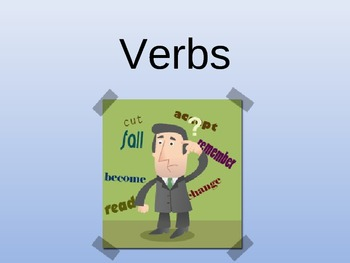 Verbs PowerPoint - Action Verbs, Linking Verbs, and Helping Verbs