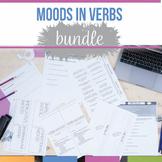 Verb Moods Bundle Subjunctive, Conditional, Indicative, Imperative, Interr.