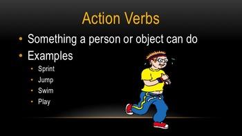 Verbs PowerPoint Presentation