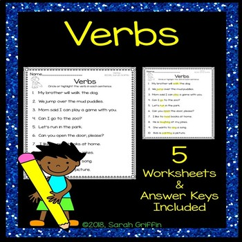 Verbs Practice Worksheets