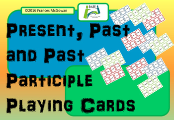 Verbs - Present, Past and Past Participle Game