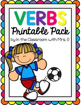 Verbs Printable Pack!