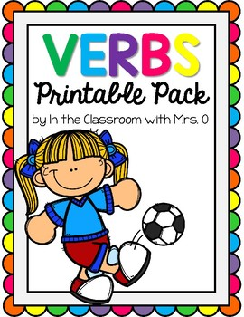Verbs Printable Pack!