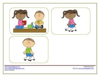 Verbs-Pronouns