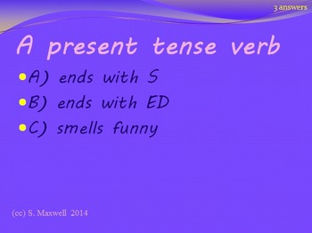 Verbs Review