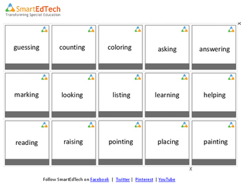 Verbs School - Communication Cards