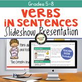 Verbs Slideshow Presentation
