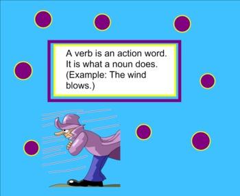 Verbs Smartboard Practice