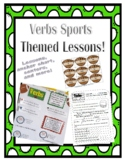 Verbs Sports Themed Lessons and Activities