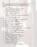 Verbs Start I, J, L, M, N, O End AR Spelling Challenge Spanish Worksheet
