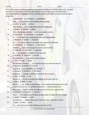 Verbs Start I, M, P End AR Spelling Challenge Spanish Worksheet