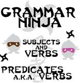 Verbs Subjects w/ Action, Linking, Helping, Infinitives - Grammar Ninja